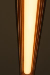 Planck Inside Edge custom suspended timber light