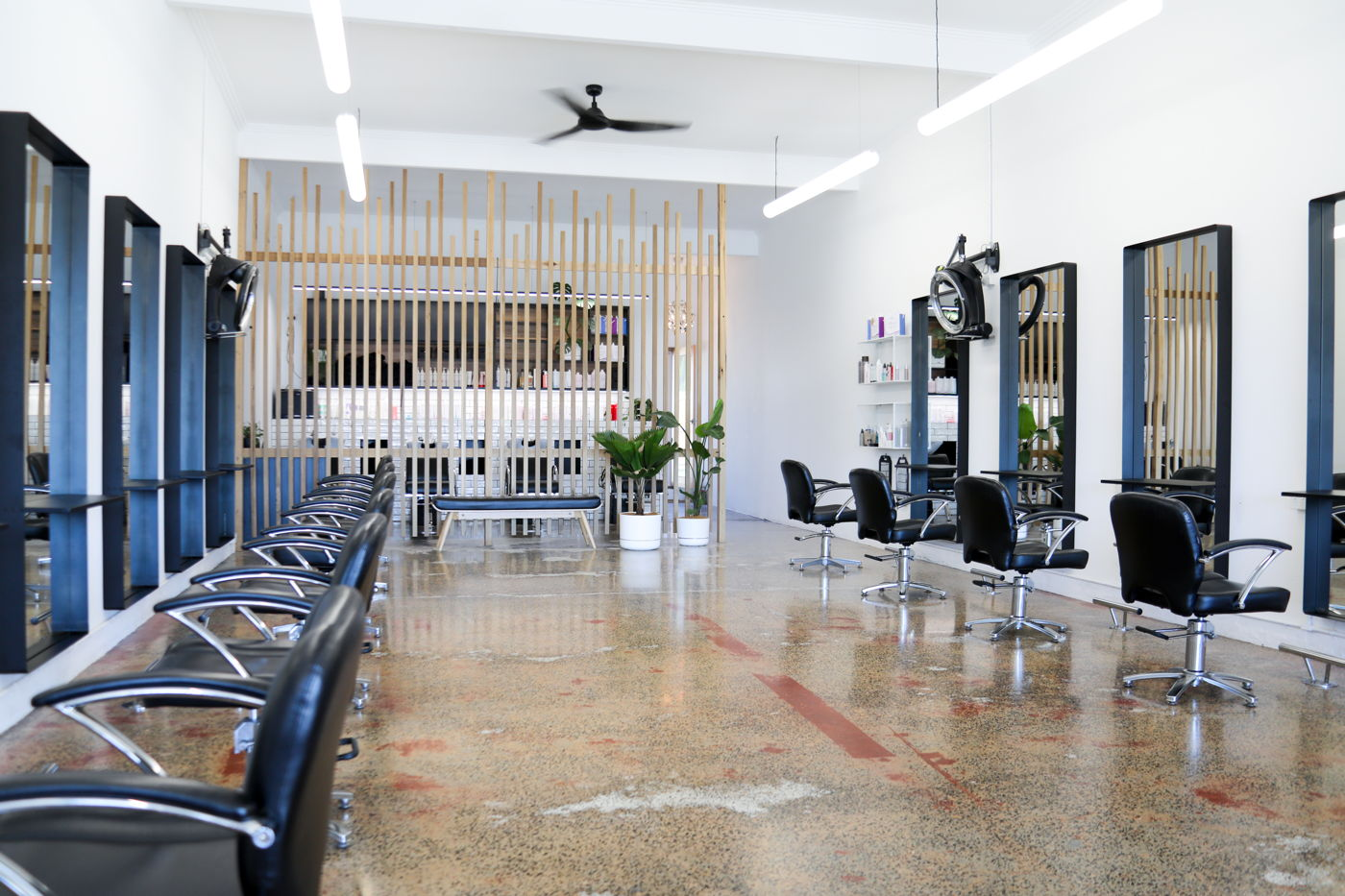 Solstice Lighting Hair Salon